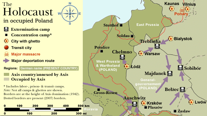 Maps - The Holocaust: A humanities Project